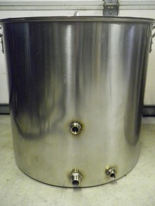 Brew kettle fittings