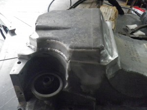 Oil Pan Casting Modification Jb Fabrication And Welding