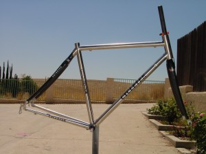 Stainless steel bicycles reynolds 953 tubing