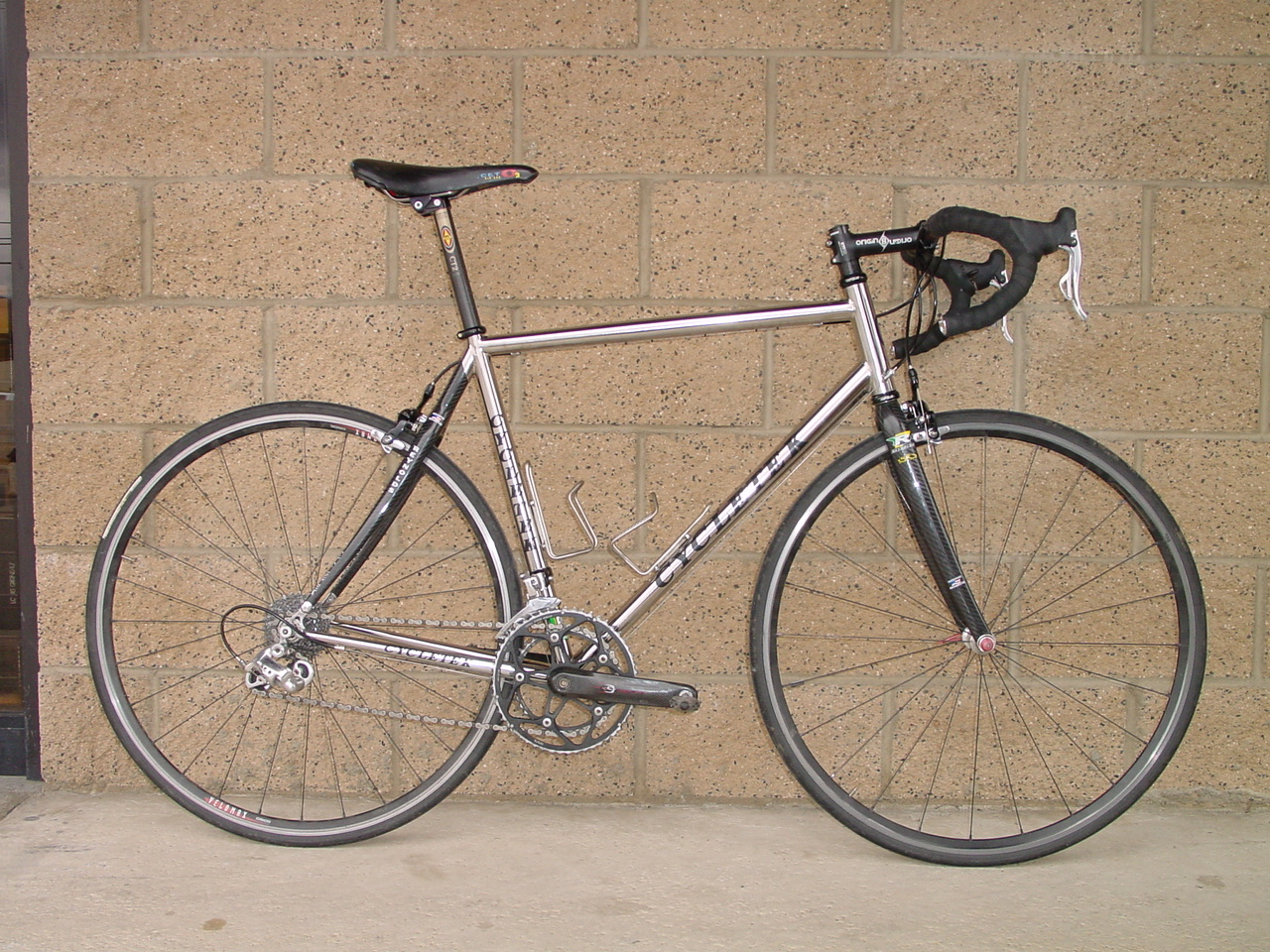 Stainless steel bicycle reynolds 953 tubing