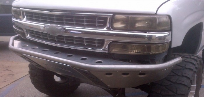 Chevy Tahoe front bumper
