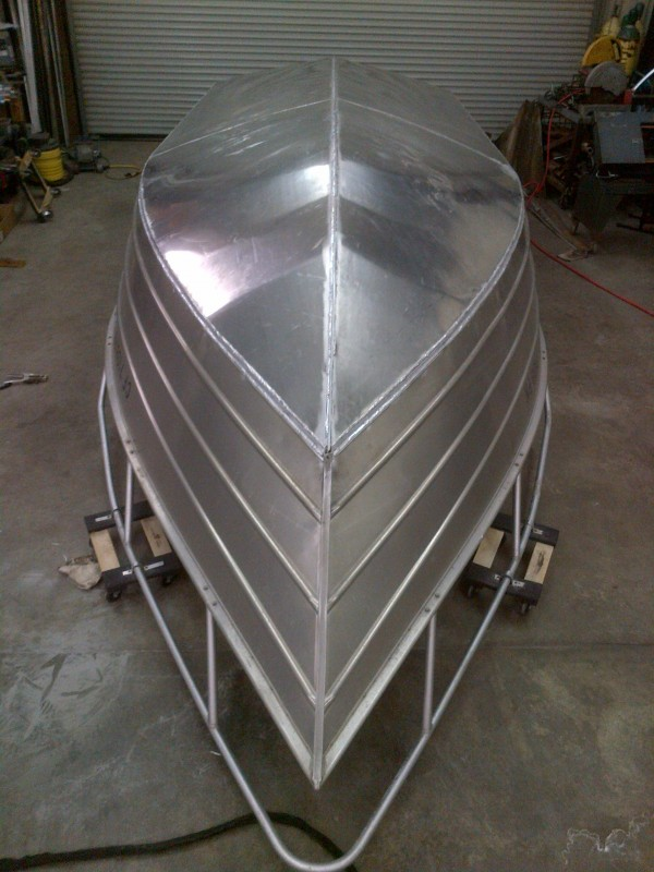 Valco 21 hull bottom replacement