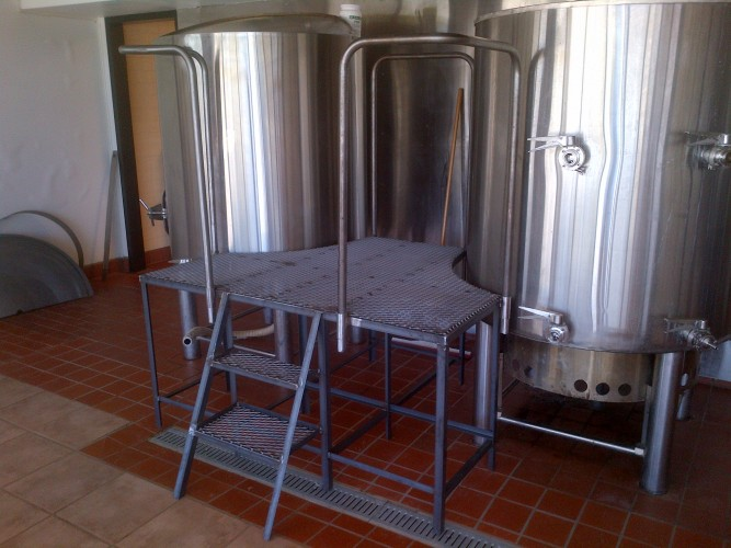 stainless steel 10 barrel brewing system