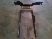 Willy's jeep skid plate with cross member back