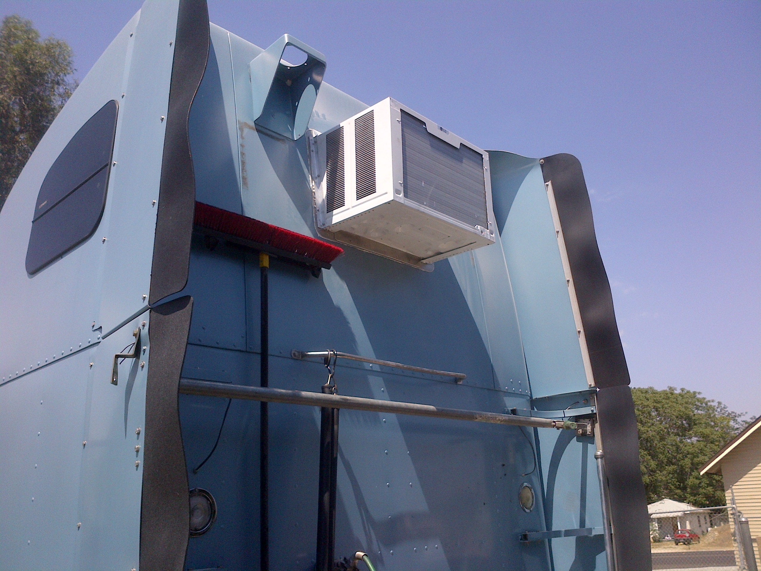 Semi Truck Air Conditioner : Semi truck air conditioner jb fabrication and welding