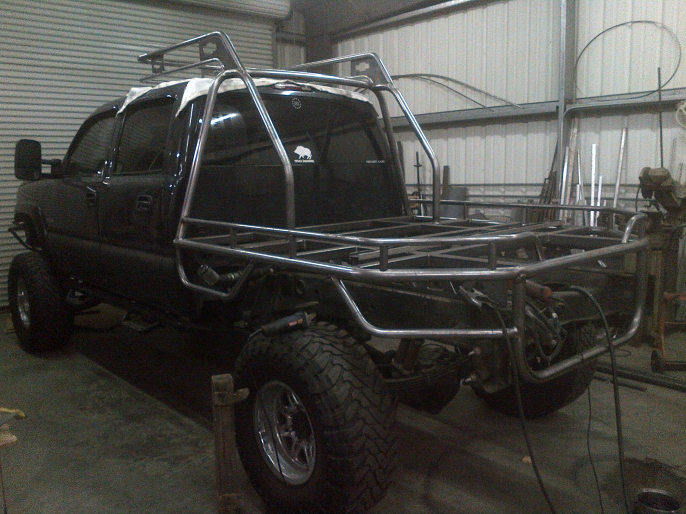 chevy flat bed frame